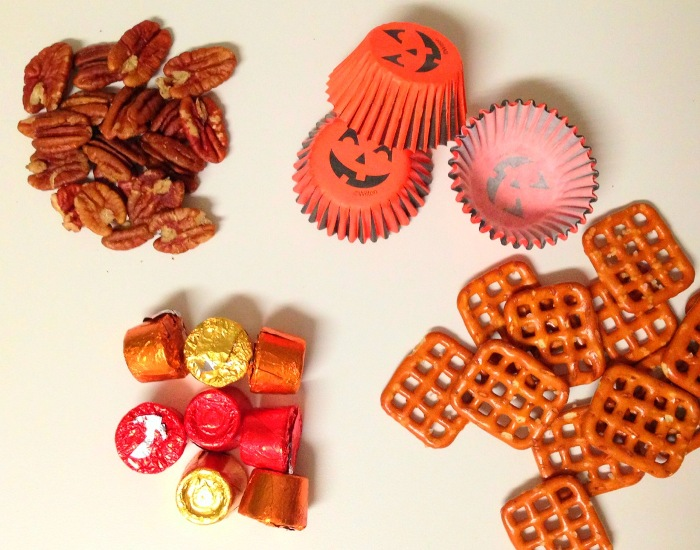 Rolo Turtles Homemade Halloween Candy