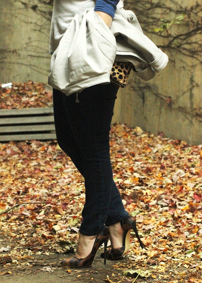 Leopard Heels Fall Outfit Jenna Wessinger Just a Touch Too Much Atlanta Fashion Blog