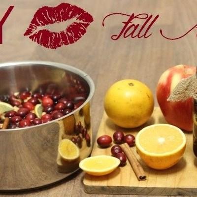 DIY: The Aroma of Fall