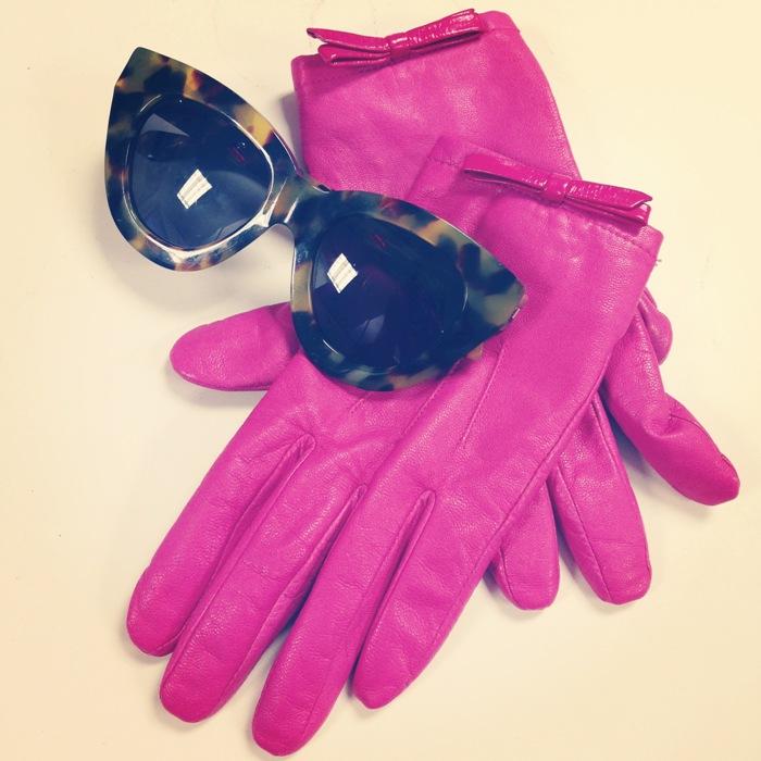 Kate Spade Pink Gloves