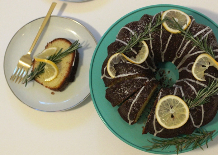 Lemon olive oil bundt cake recipe