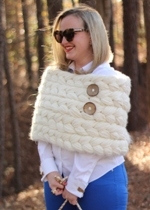 Cable Knit Shrug