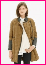 Madewell Quilted Coat