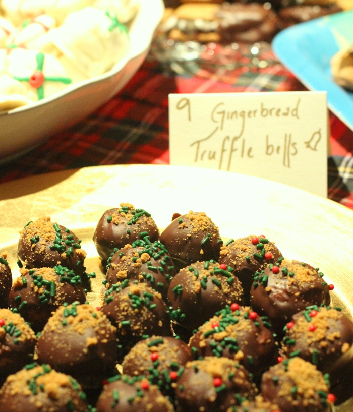 Gingerbread Truffle Balls Christmas Cookies