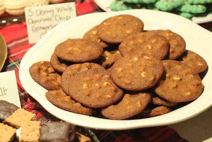 White Chocolate Chip Gingerbread Christmas Cookies Best Tasting