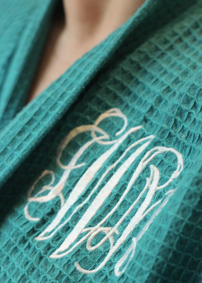 Monogram Robe