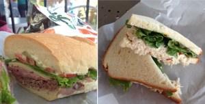 Henri's Bakery Atlanta Sandwiches Roast Beef Chicken Salad
