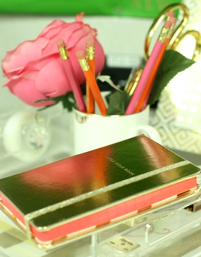 Kate Spade Little Gold Book