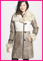Laundry by Shelli Segal Suede Coat