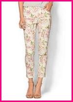 Marchesa Vogyage Printed Skinny Pant