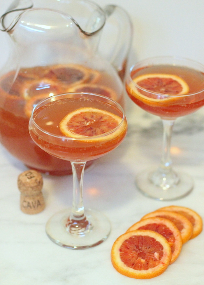French 75 Rose Cocktail Recipe