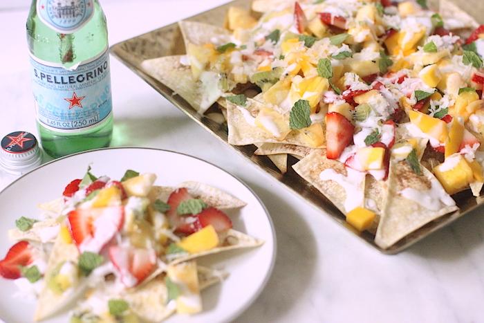 Fruit Nachos Summer Recipe