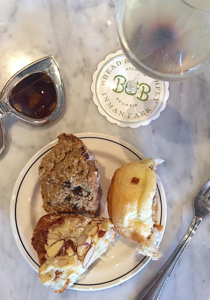 Atlanta Brunch French Brassiere Bread & Butterfly