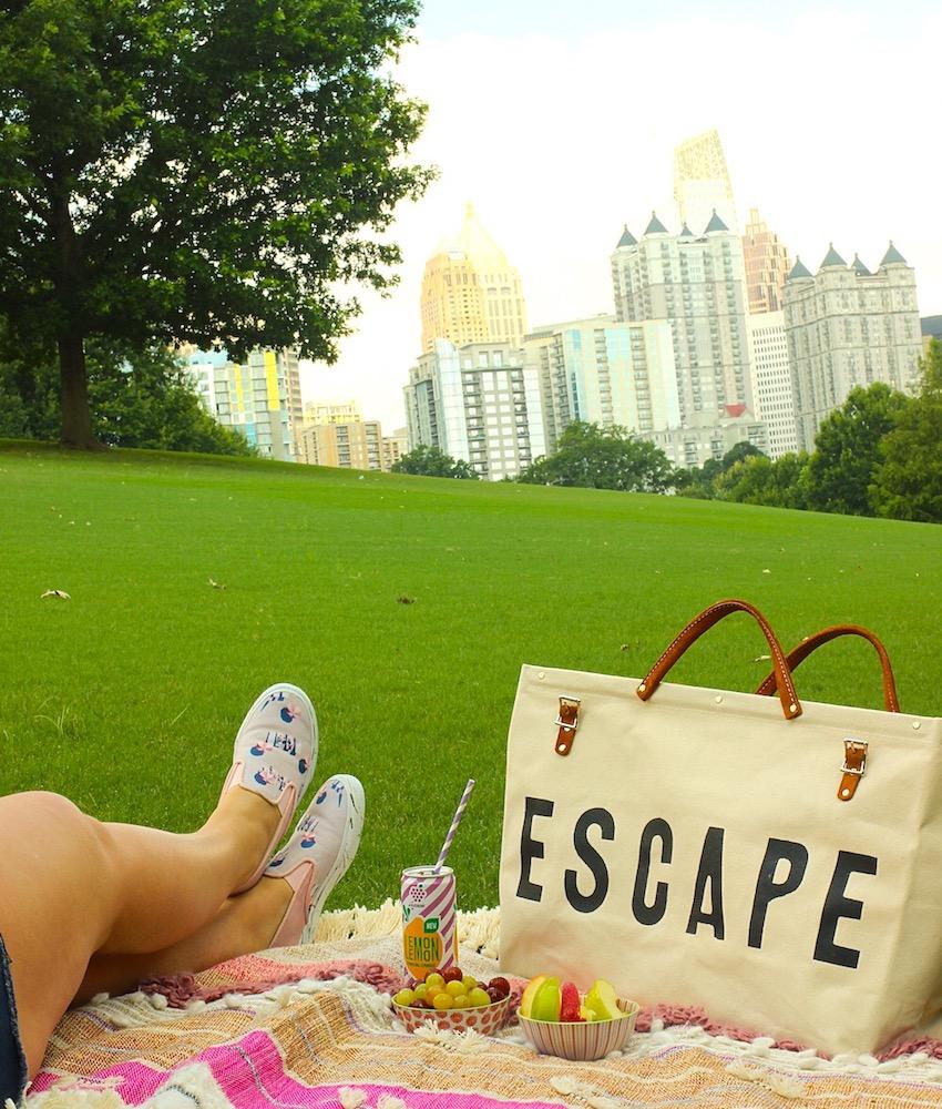Atlanta Piedmont Park Picnic Escape Travel Bag