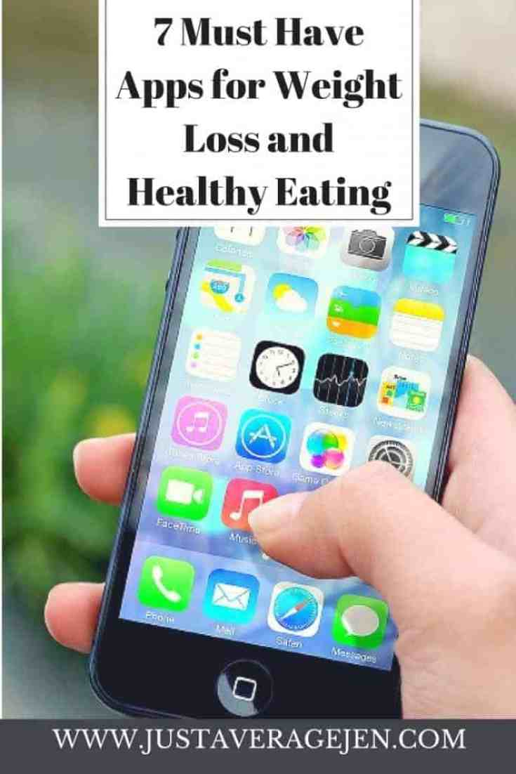7 must have apps for weight loss and healthy eating just average jen