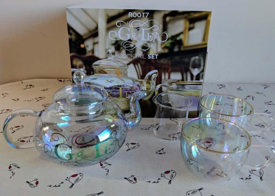 g and tea set