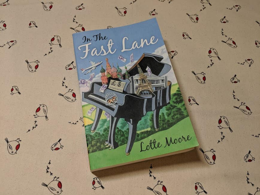Win one of 3 copies of In The Fast Lane by Lotte Moore