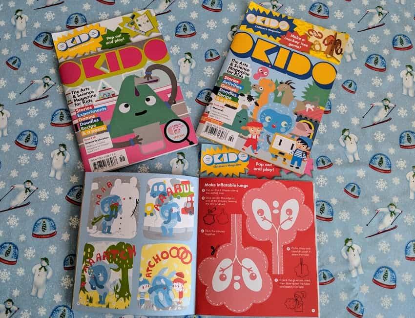 okido magazines
