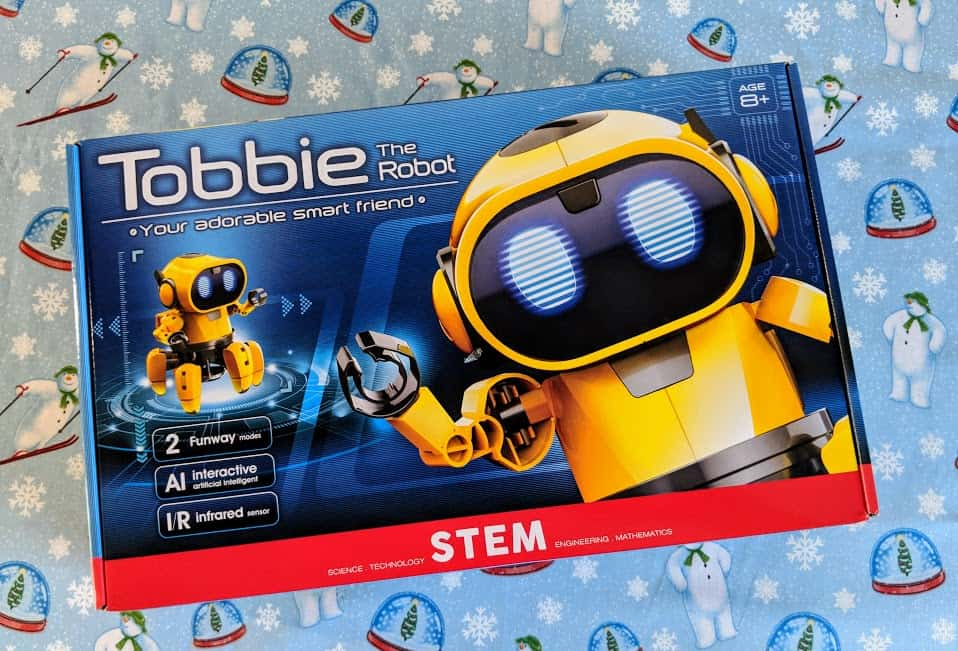 Tobbie Robot kit