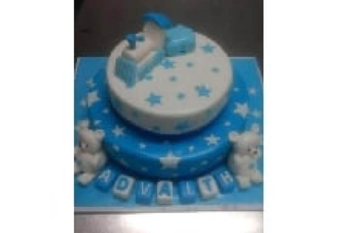 Send Online 1st Birthday Cakes From Just Bake Bangalore India