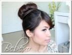 Braided Sock Bun Updo Hairstyle (2 ways)