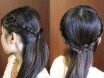 Crown Lace Braid Headband Hairstyle