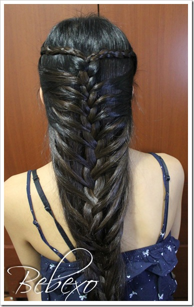 Mermaid French Braid Hairstyle Bebexo Hairstyles