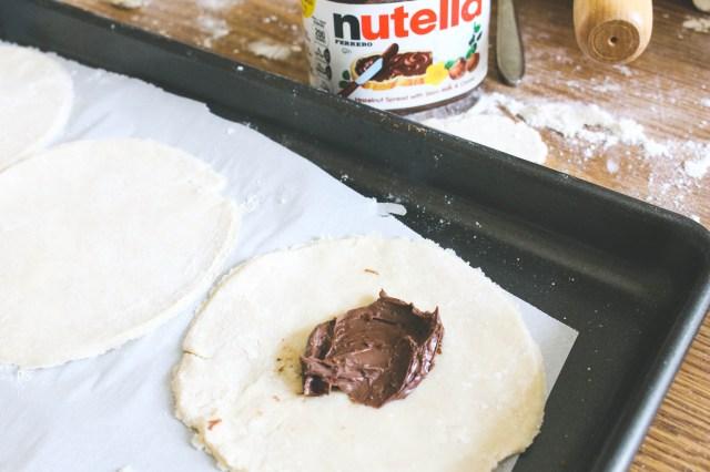 Mini Cherry Nutella Galettes 8 | justbeeblog.com