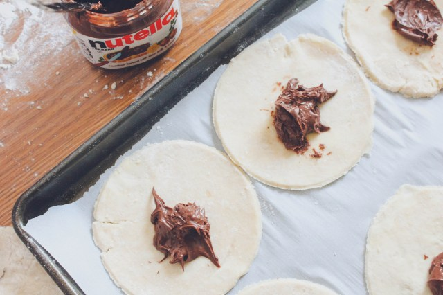 Mini Cherry Nutella Galettes 9 | justbeeblog.com
