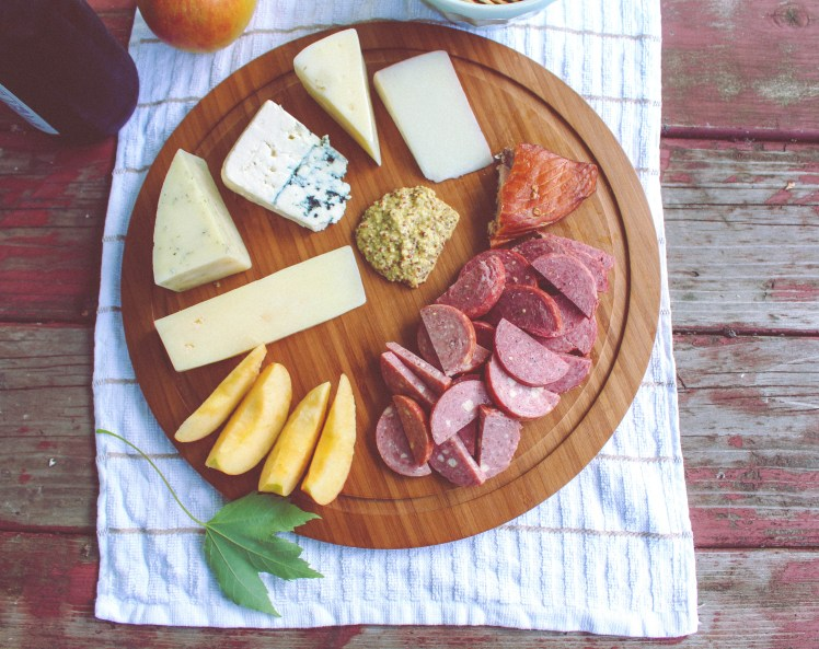 charcuterie meat cheese board 5