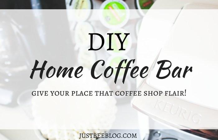 DIY Home Coffee Bar
