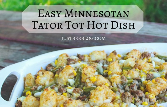 Easy Minnesotan Tator Tot Hot Dish