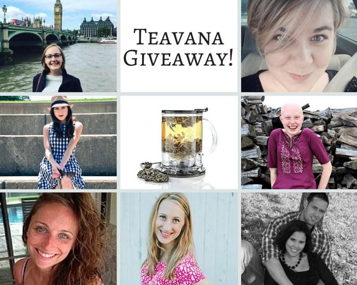 Just Bee Teavana October Giveaway
