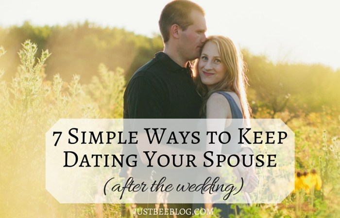 7 Simple Ways to Keep Dating Your Spouse