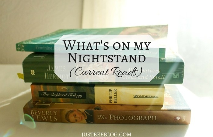 What's On My Nightstand: Current Reads