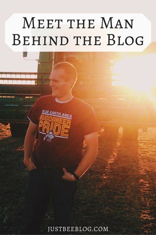 It's husband interview time! Can't wait for you to meet the handsome man behind the blog! - Just Bee Blog