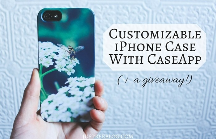 Custom iPhone Case With CaseApp (+ a giveaway!)