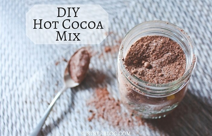 DIY 4-Ingredient Hot Cocoa Mix