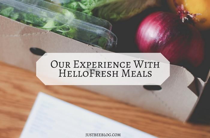 HelloFresh Meals - Just Bee Blog