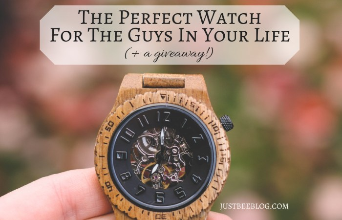 The Perfect Watch For The Guys in Your Life (+ a Giveaway!)