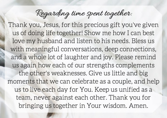 Prayer Cards For Your Marriage (a free printable!)