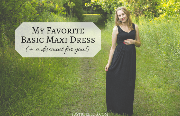 My Favorite Basic Maxi Dress (+ a discount for you!)