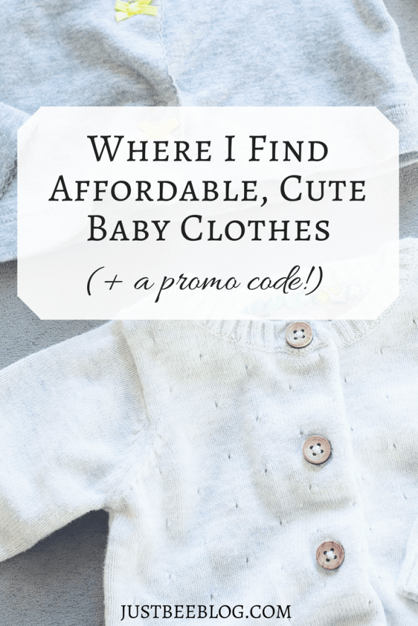 Where I Find Affordable, Cute Baby Clothes- just bee