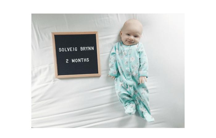 Sophie's 2 Month Update