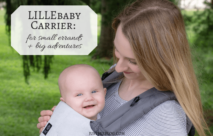 LILLEbaby Carrier: For Small Errands AND Big Adventures