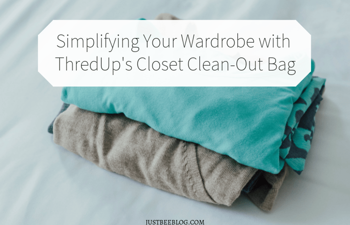 Simplifying Your Wardrobe with ThredUp's Closet Clean-Out Bag