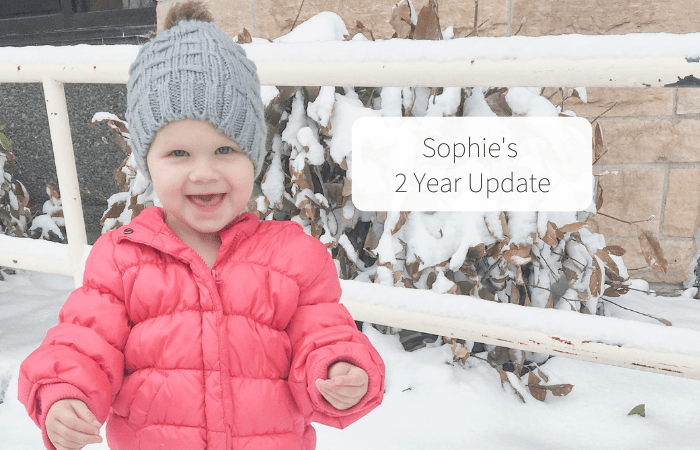 Sophie's 2 Year Update