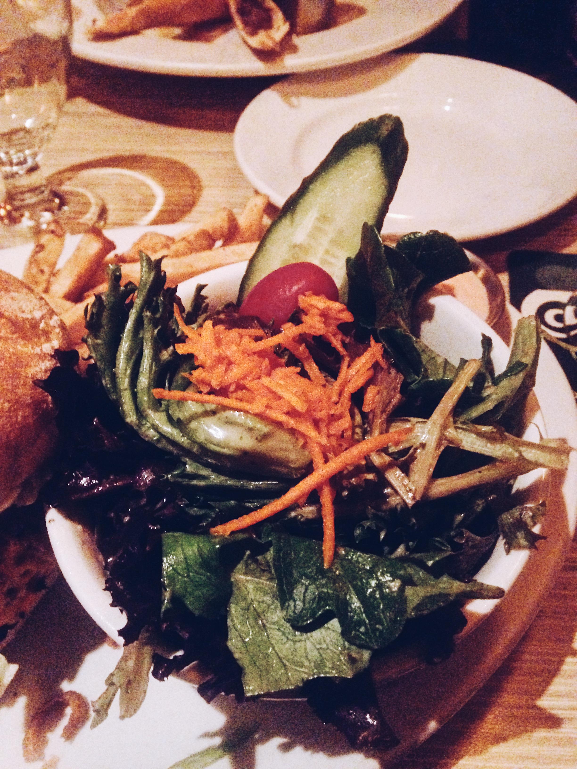 Veggie burgers at Biercraft. Vancouver. Canada. Restaurant Review