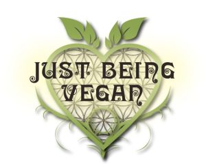 Just Being Vegan logo