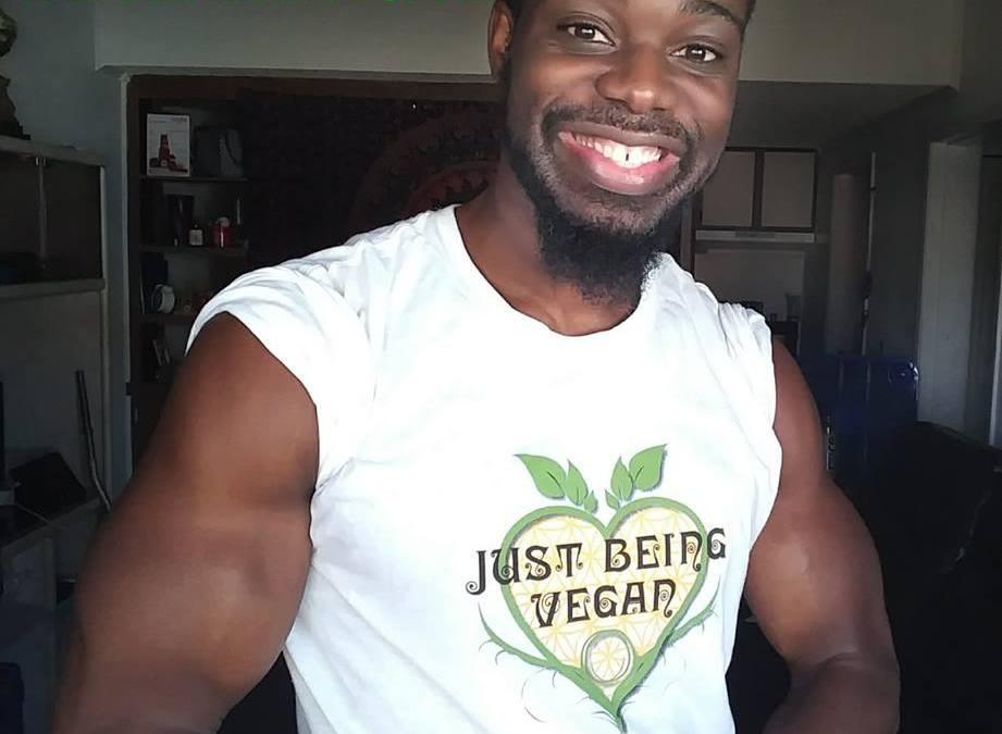 Vegan Body Builder-Kelvin Harding